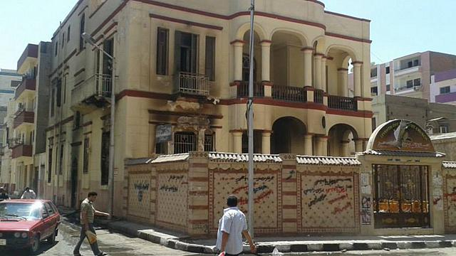 Adventkyrka i Egypten attackerad