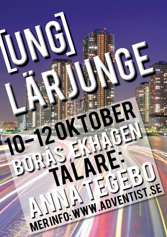 """""""Ung lärjunge"""" är temat för ungdomsträffen i Borås i oktober. Boka in denna helgen för inspiration & gemenskap."""