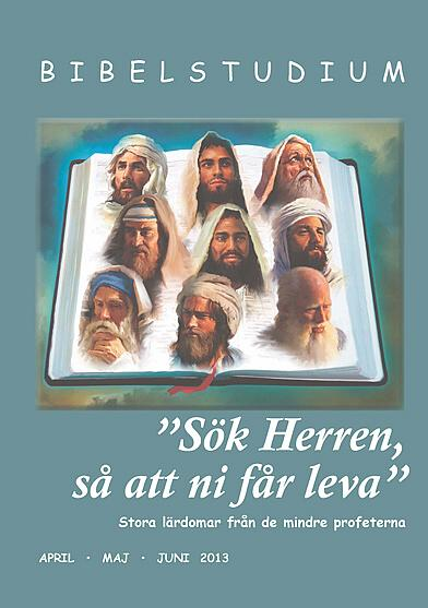 """""""Sök Herren så att ni får leva"""" - Stora lärdomar från de mindre profeterna"""