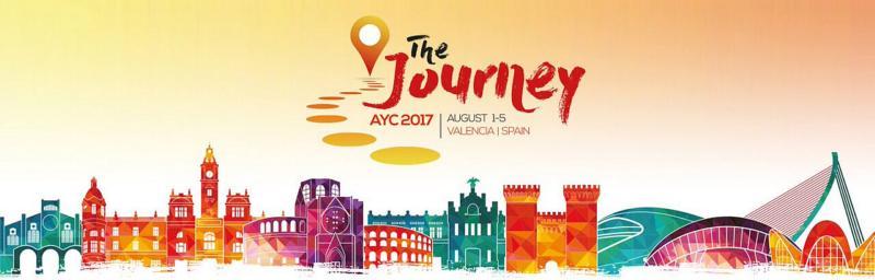 Europeisk ungdomskongress i Valencia, Spanien, 1-5 augusti.