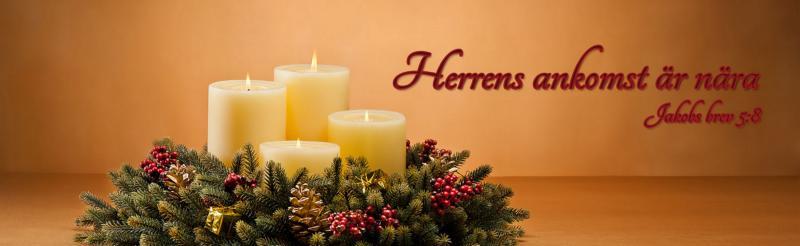 Adventister väntar på Jesus ankomst, vilket vi påminns om under denna mörka och kalla årstid. Här kan du också följa adventskalendern för barnen, ett nytt avsnitt varje helg fram till jul.