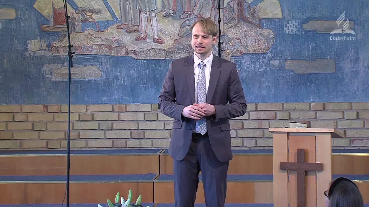 Vad har Kung David och stålmannen gemensamt? Tobias Edlund berättar även några erfarenheter från sin tid som internat elev, som illustration på hur vi också kan ha samma erfarenhet som David.