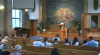 """Uttrycket """"Jesus är Herre"""" är vanligt i NT, men i dagen samhälle använder vi inte ordet """"Herre"""" och inte heller är det så vanligt hos adventister att säga att han är """"Herre"""". Vi pratar ofta om Jesus som skapare, frälsare och vän… Syftet med predikan blir att vi också ska se på Jesus som vår Herre men också vad det innebär i praktiken."""