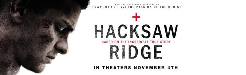 """Det är inte ofta som vi upplyser om en aktuell biofilm på Adventistsamfundets hemsida. Men eftersom Mel Gibsons omtalade  film """"Hacksaw Ridge"""" bygger på den sanna berättelsen om adventisten Desmond Doss, gör vi ett undantag."""