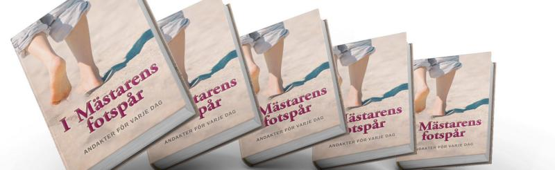 Äntligen är den nya andaktsboken på gång! Förra andaktsboken som kom 2012 blev mycket uppskattad. Denna gång har betydligt fler medlemmar bidragit med andakter för varje dag.