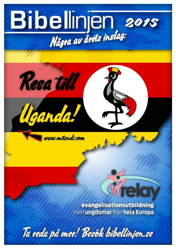 Några av inslagen under 2015 inkluderar en Resa till Uganda och Relay.