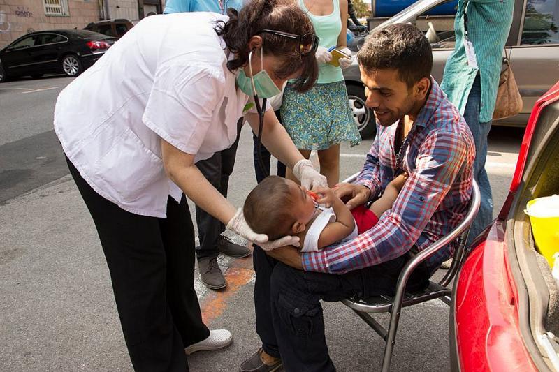 ADRA Serbien engagerar sig i ett asylinformationscenter i Belgrad med hjälp till utsatta familjer. Foto: ADRA Serbien.