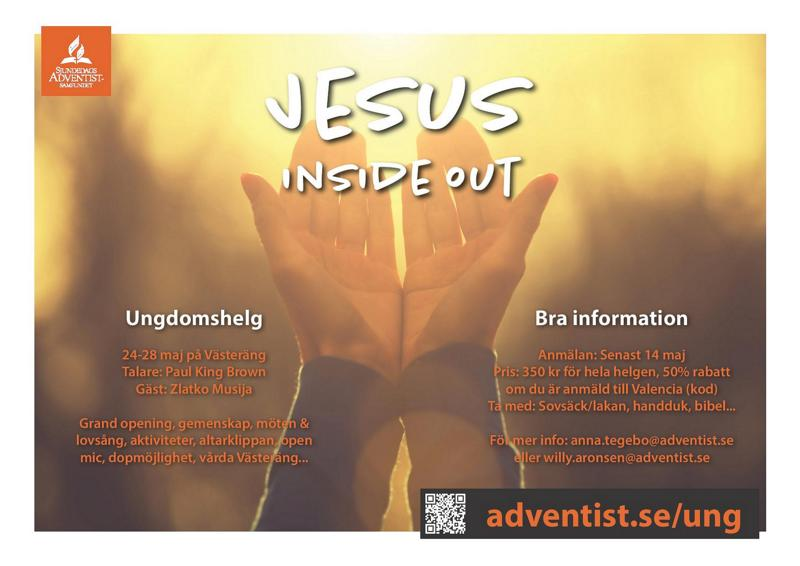 Jesus-Inside out!