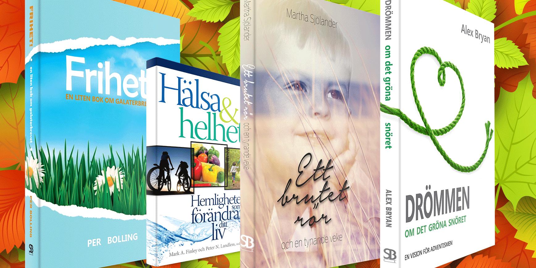 Under hösten sätter vi särskilt fokus på dessa böcker! Besök www.skandinaviskabokforlaget.se!