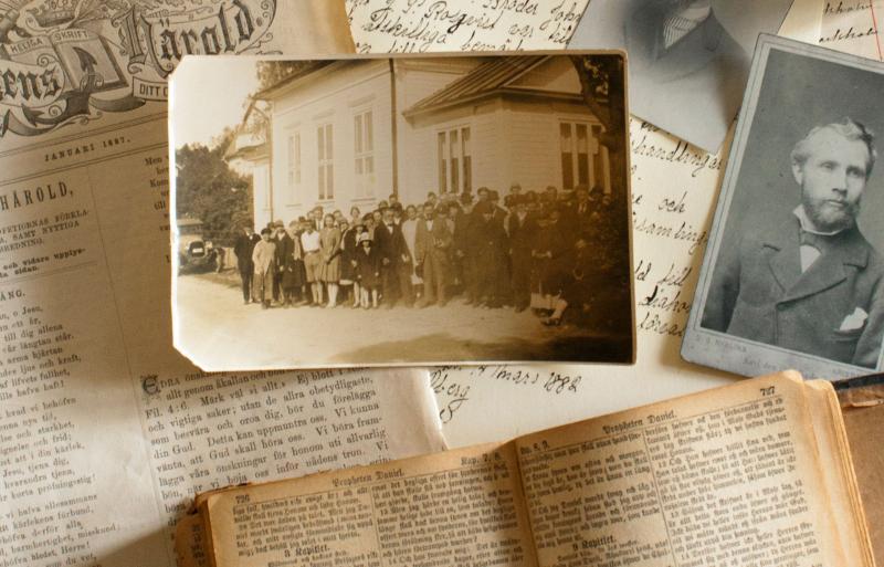 """Dessa sidor fylls succesivt på med material som hör till Adventistsamfundets historia i Sverige och vad som finns hos HASDA. Välkommen att """"titta in"""" digitalt."""