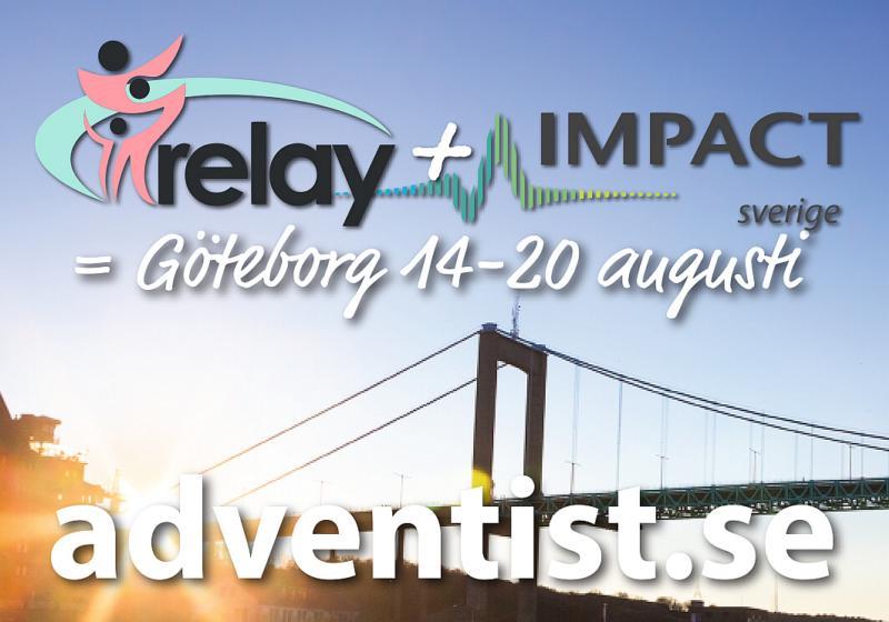 Satsningen på evangelisation i Göteborg fortsätter i sommar med en veckas evangelisation och utbildning, ett samarbete mellan Relay och Impact.